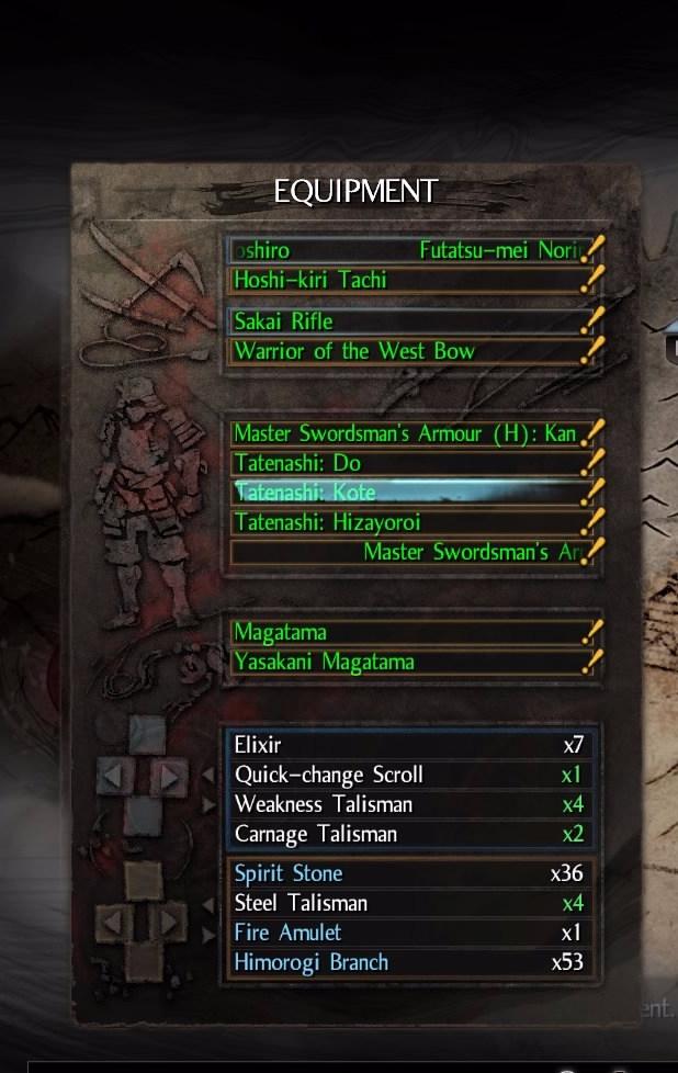 Nioh_Armor_Slots