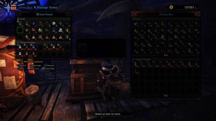 MHW Items