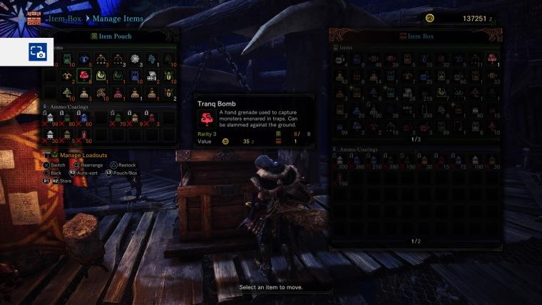 Monster Hunter World- Tranq bomb