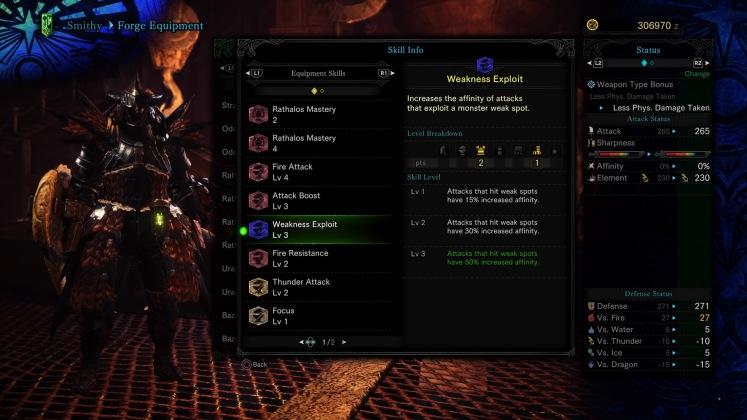 Monster Hunter: World - Weakness Exploit