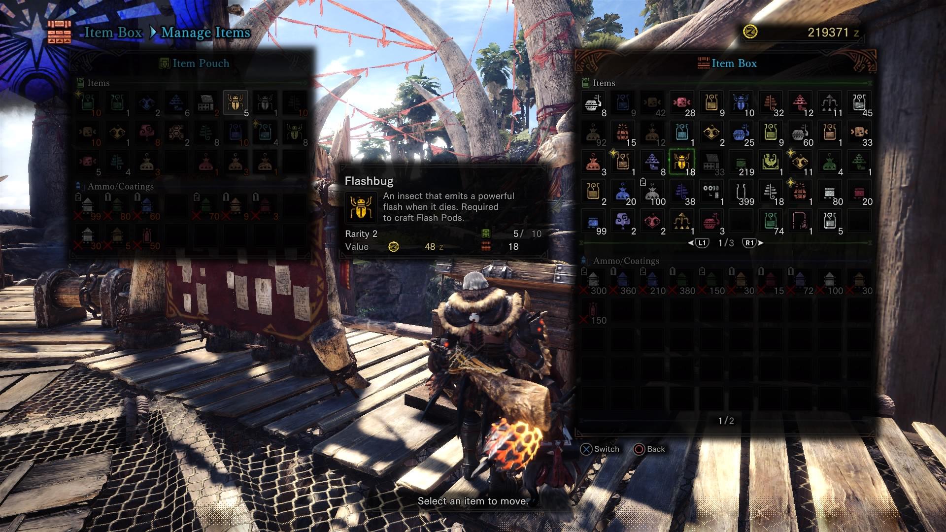 Monster Hunter World - Flashbug