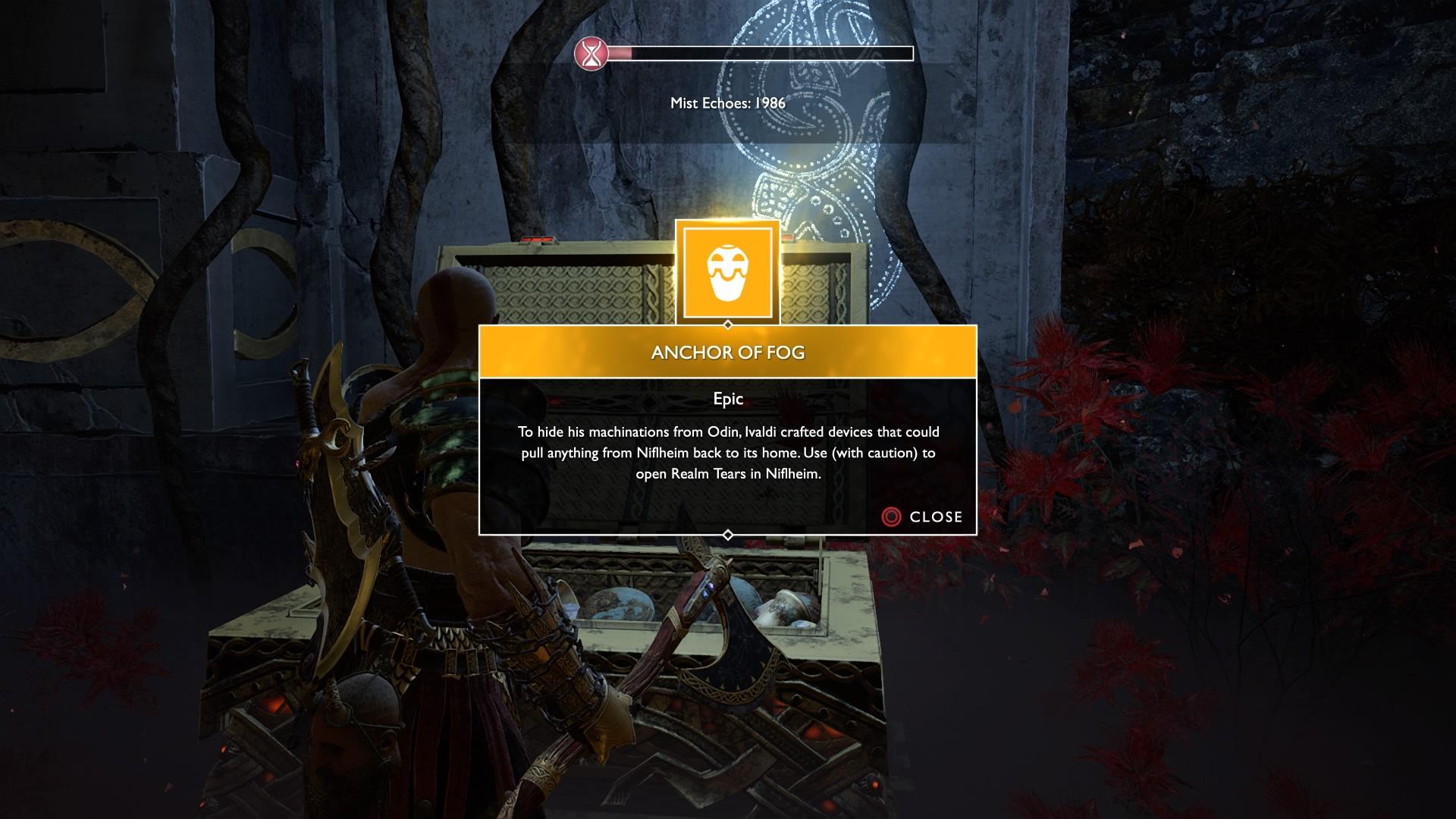 God of War - Items - Niflheim - Anchor of Fog.jpg