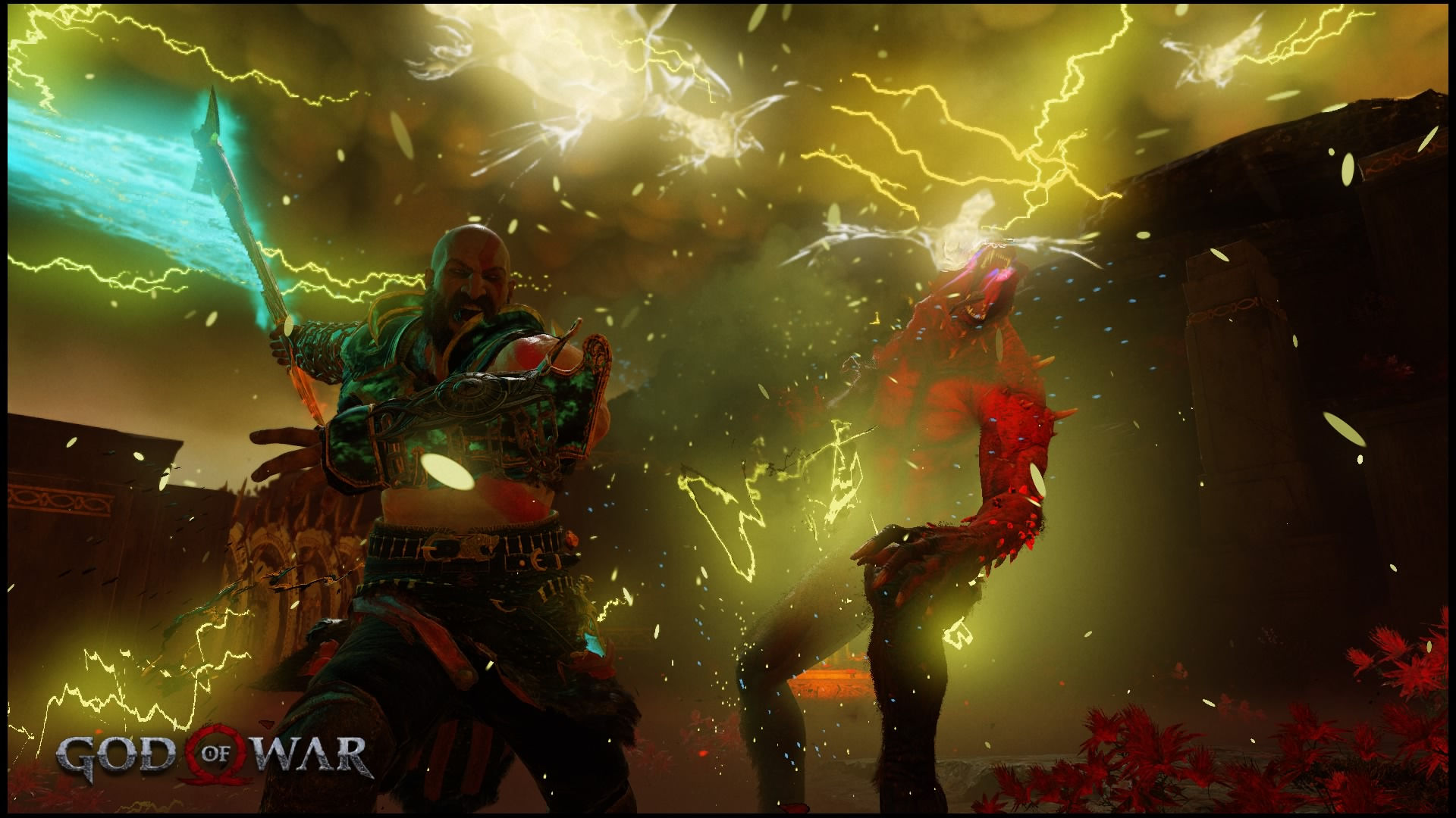 God of War - Screenshot - Leviathan Axe Strike 2.jpg