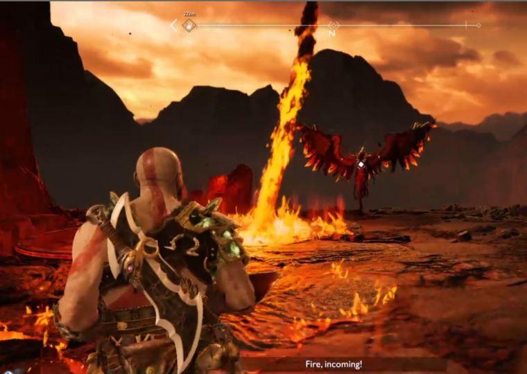 God of War - Valkyries - Meteor Attacks.JPG