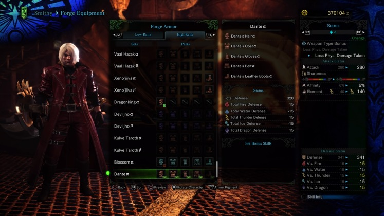 MHW - Events - DMC - Rewards - Full Set Appearance