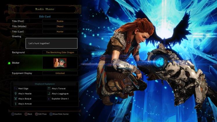 Monster Hunter: World_ Horizon Zero Dawn Event